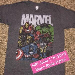 🖤🖤 MARVEL SUPER HEROES AVENGERS T-SHIRT MENS M
